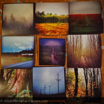 Photography painting series – the story behind the artwork