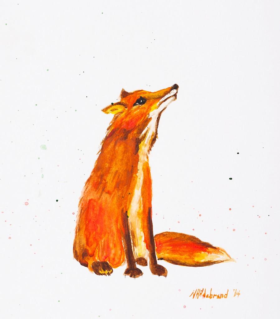 FOX NURSERY ART